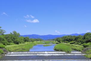 川と青空の写真素材 [FYI04810781]
