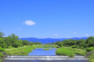 川と青空の写真素材 [FYI04810782]