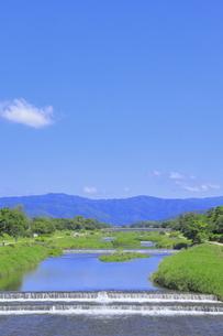 川と青空の写真素材 [FYI04810783]