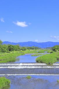 川と青空の写真素材 [FYI04810784]