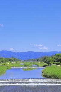 川と青空の写真素材 [FYI04810785]