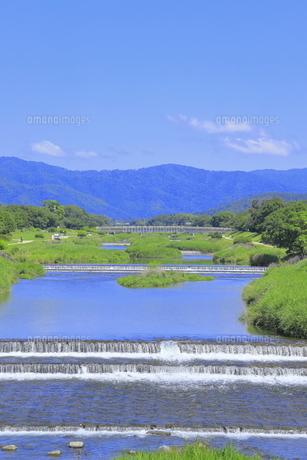 川と青空の写真素材 [FYI04810786]