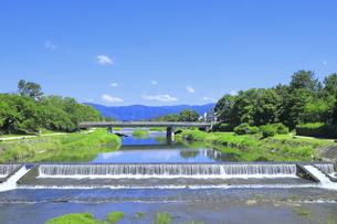 川と青空の写真素材 [FYI04810787]