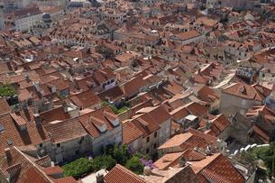 ドゥブロヴニク  ミンチェタ要塞からの旧市街展望の写真素材 [FYI04810943]