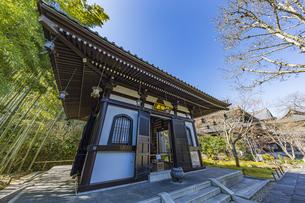 観音造立1300年を迎えた長谷寺の経蔵の写真素材 [FYI04811176]