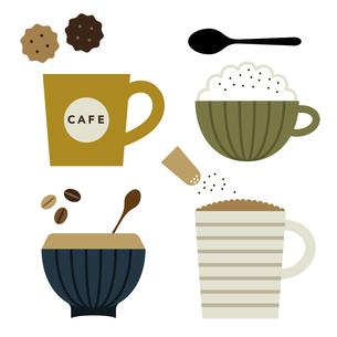 コーヒー色々 イラストのイラスト素材 [FYI04811328]