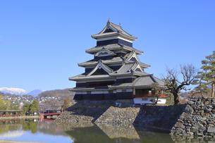 松本城公園の写真素材 [FYI04811678]