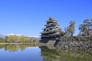 松本城公園の写真素材 [FYI04811679]