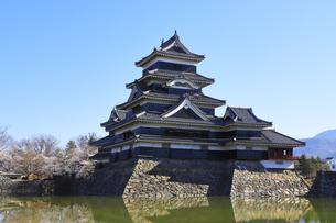松本城公園の写真素材 [FYI04811683]