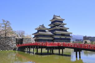 松本城公園の写真素材 [FYI04811697]