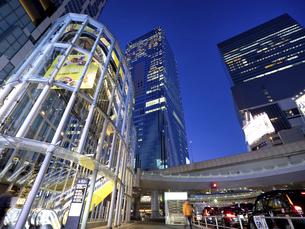 夕暮れの渋谷ストリーム 東京都の写真素材 [FYI04811759]