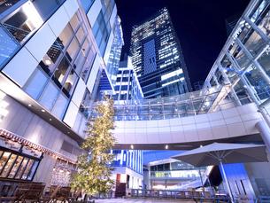 夕暮れの渋谷ストリーム 東京都の写真素材 [FYI04811783]
