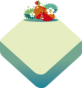 イチゴの背景のイラスト素材 [FYI04811964]