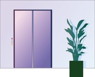 エレベーターのドアのイラスト素材 [FYI04812003]