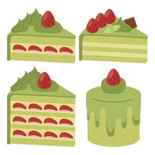 かわいいケーキのイラストセット2のイラスト素材 [FYI04812041]