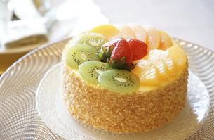 フルーツケーキの写真素材 [FYI04812201]