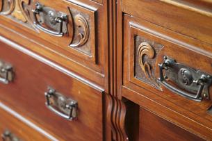 戸棚の引き出しの写真素材 [FYI04812234]