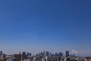 豊島区から望む新宿方面のビル群の写真素材 [FYI04812429]