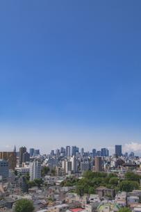 豊島区から望む新宿方面のビル群の写真素材 [FYI04812432]