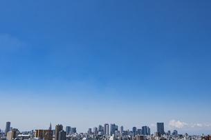 豊島区から望む新宿方面のビル群の写真素材 [FYI04812435]