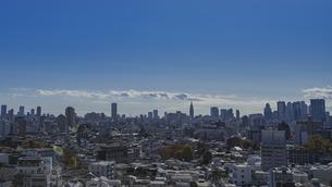 豊島区から望む新宿方面のビル群の写真素材 [FYI04812462]
