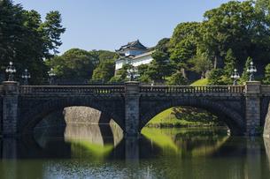 【東京都】皇居 二重橋の写真素材 [FYI04812565]