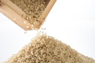 山盛りの玄米の写真素材 [FYI04812607]