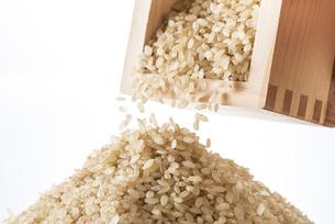 山盛りの玄米の写真素材 [FYI04812610]