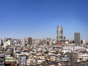 東京の街並みの写真素材 [FYI04813273]