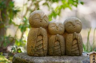長谷寺の良縁地蔵の写真素材 [FYI04813665]