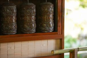 長谷寺のマニの写真素材 [FYI04813678]
