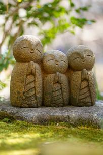 長谷寺の地蔵の写真素材 [FYI04813679]