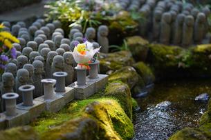 長谷寺の地蔵の写真素材 [FYI04813684]