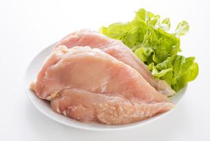 鶏胸肉の写真素材 [FYI04813941]