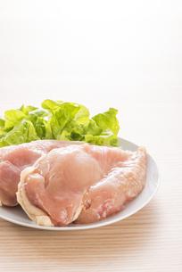 鶏胸肉の写真素材 [FYI04813944]