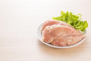 鶏胸肉の写真素材 [FYI04813945]