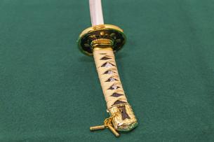 刀の柄の写真素材 [FYI04814534]