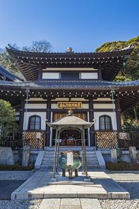 観音造立1300年を迎えた長谷寺の阿弥陀堂の写真素材 [FYI04814848]