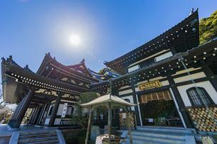 観音造立1300年を迎えた長谷寺の観音堂と阿弥陀堂の写真素材 [FYI04814858]