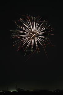 エール花火の写真素材 [FYI04814921]