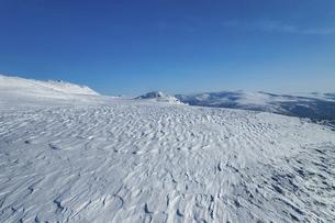 北海道 大雪山旭岳の冬の風景の写真素材 [FYI04815394]