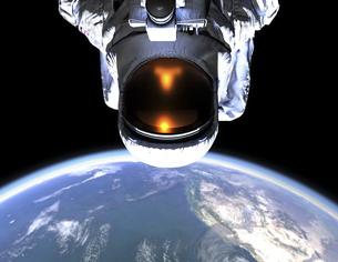 宇宙飛行士のイラスト素材 [FYI04815539]