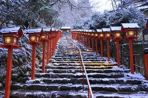 貴船神社 京都の写真素材 [FYI04815560]