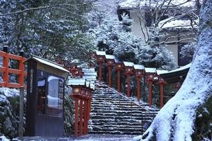 貴船神社 京都の写真素材 [FYI04815568]
