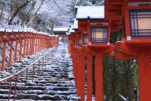 貴船神社 京都の写真素材 [FYI04815569]