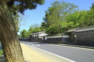 松江城 武家屋敷の写真素材 [FYI04815571]