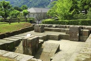 反射炉跡と尚古集成館 鹿児島の写真素材 [FYI04815575]