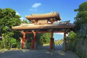 首里城公園 守礼門の写真素材 [FYI04815602]