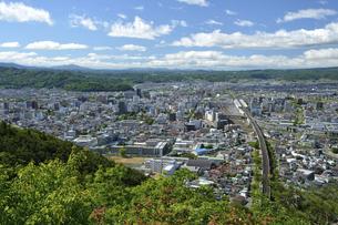 福島市街展望の写真素材 [FYI04815639]