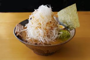ネギ味噌ラーメンの写真素材 [FYI04815983]